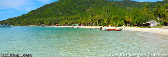 Chaloklum Beach Ko Phangan Guiden Se I Thailand Hotell